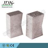 花こう岩のブロックの切断のためのKの形のダイヤモンドセグメント