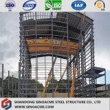 Großräumige garantierte industrielle Stahlkonstruktion-Fabrik-vorfabriziertwerkstatt