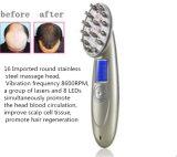 Pente Laser recarregável estimular o crescimento do pêlo com o pente de Laser de tratamento de perda de cabelos do couro cabeludo cabeça EMS RF massajador massajador de cabelo de reparação