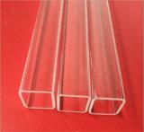 Tubo libero del quarzo del silicone di rettangolo per il semiconduttore