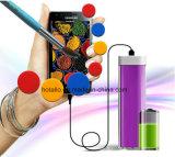 Plástico Hotsell pintalabios Colorido banco de potencia Hpb01