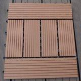 WPC DIY Interlocking Deck Tiles/BALCONY Plastic Tiles