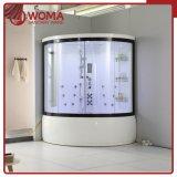 Stanza di vapore bagnata di sauna dell'acquazzone di buona qualità di massaggio del mulinello con la vasca
