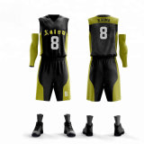 Haut de la qualité uniforme de fait sur mesure Le joueur de basketball Jersey