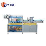 Machine automatique de cas d'emballage carton pour machine d'emballage de boissons (V-PAK WJ-LZX-18F)