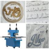 Peça de vestuário têxtil de malha 3D Hat Bag PVC Logotipo de borracha de silicone da impressora imprimindo uma transferência de calor reflexivo totalmente automático Pressione t Label Pano Camisola Gofragem a máquina