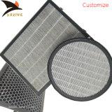 De honingraat Geactiveerde Filter van het Blok van de Koolstof voor de Behandeling van de Lucht van het Gas van het Afval