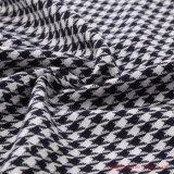 Houndstooth polyester Tissu de rayonne et de Spandex