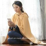 衣類の女性の服装の羊毛毛布のポンチョTV毛布