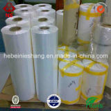 Шток фабрики пленки Shrink PVC домочадца