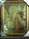 Золотая фольга сикхов Бога изображения (THL-S)