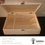 De Doos van de Verpakking van de Douane van Hongdao, Houten Box_D
