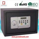 Электронный сейф с сталью индикации LCD (G-25ELB) твердой