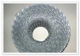 建築材料の煉瓦積みの補強によって拡大される金属の網