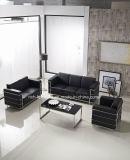 Moderner Entwurfs-Edelstahl-Metallrahmen-Büro-Sofa