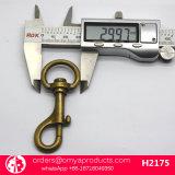 Neues Produkt-Schwenker-Haken-galvanischer Metallüberzug-Messing-Verschluss-Haken