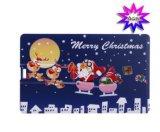 Schnelle Anlieferungs-freie Verschiffen-Weihnachtskarte USB-Blinken-Laufwerke (D-013)