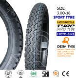 Neumático de la vespa del neumático de la motocicleta de la moto del camino 3.00-18
