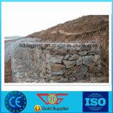 Pedra de soldados galvanizados Gabião colchão