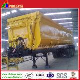 U Vorm 3 de Vrachtwagen van de Aanhangwagen van de Stortplaats van Assen