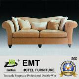 Sofa de première qualité d'entrée d'hôtel réglé (EMT-SF40)