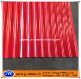Покрасьте/строительные материалы гофрированные покрытием лист металла