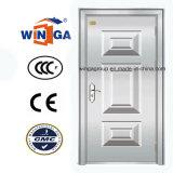 素晴らしいデザインステンレス鋼の外部の機密保護のドア(W-GH-09)