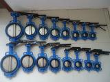 Gussteil-Karosserien-Oblate-Typ Drosselventil ANSI150