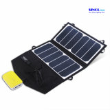 Recargables impermeables panel solar cargador solar plegable portátil 13W Sunpower la salida del USB Bolsa plegable para iPhone / iPad (FSC-13at)