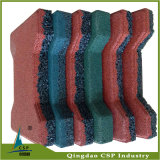 200 * 160mm China Top Quality Rubber Floor Tile