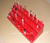 Acryl erröten Behälter-Bildschirmanzeige für erröten (BTR-B3015)
