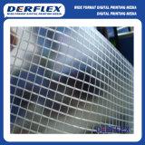 Cortina de ventana de fibra de vidrio lienzo textil
