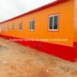 Modulare/mobile d'acciaio/prefabbricato/hanno prefabbricato la costruzione vivente su ordine