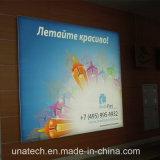 Для использования внутри помещений средств распространения рекламы безрамные кондоминиума залы и светодиодной подсветкой натяжение баннера Flex блок освещения