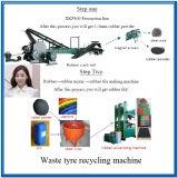 Zps800 Triturador de Pneu totalmente automático para máquina de reciclagem de pneus usados