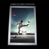 Piscina Bar Club PVC LED backlit Display Publicidade de filme fino de alumínio Caixa de Luz