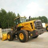De Lader LG956L van het Wiel van Lingong van Shandong 5t voor Mijnbouw, Rots of Steenkool