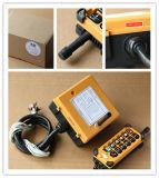 F23 Transmitt와 Receiver Industrial Overhead Crane Radio Remote Control