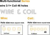 A4 het 4:1 van Size Coil en Wire 3:1 2 in-1 Binding Machine (CW2917)