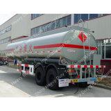 Sinotruk 2 차축 50 톤 연료 또는 석유 탱크 세미트레일러