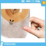 Saco de ostomia convexa de uma peça com segurança para ostomatos