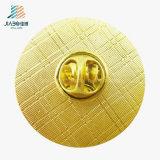Le meilleur Pin de vente de bouton personnalisé plaqué par or rond de peinture de produits