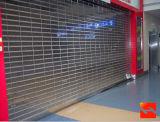 Прозрачная штарка ролика/кристаллический двери штарки завальцовки