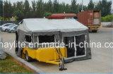 rimorchio esterno del caravan del rimorchio di campeggiatore di 7FT*6FT Australia con la tenda