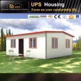 Casa prefabricada del panel de emparedado de la nueva tecnología para la venta