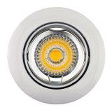 Aluminium vertiefte LED Punkt-unten Leuchte des Druckguss-GU10 MR16 runde Neigung (LT1200)