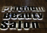 ハローLit LED Lighting Polished Finish Stainless Steel 3D Sign