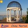 Norton Twee het Mooie Park van de Toon vereert Marmeren Gazebo met Gietijzer Hoogste ntmg-065L