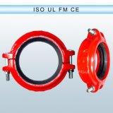 Fer malléable coude de 45 degrés et ajustage de précision de pipe Grooved