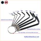 ключ ключа кольца 8PCS Hex Ален для набора комплекта инструмента ремонта велосипеда Bike задействуя